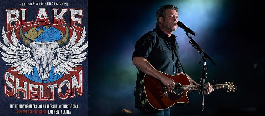 Blake Shelton at Mechanics Bank Arena