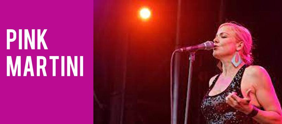 Pink Martini at Bakersfield Fox Theater