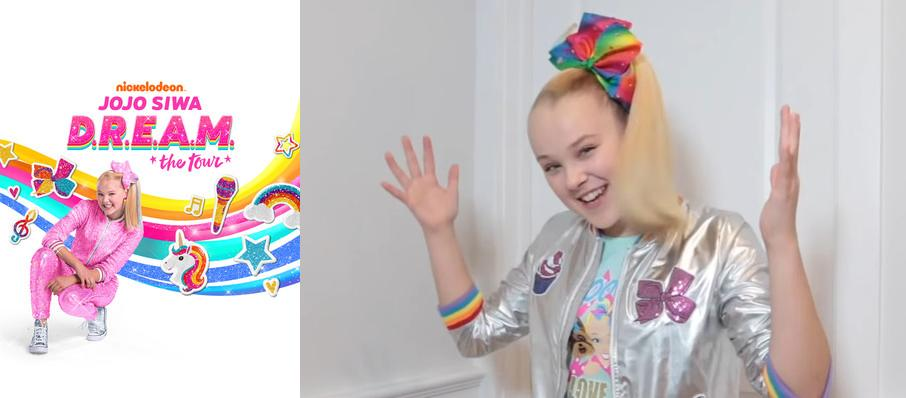Jojo Siwa at Mechanics Bank Arena